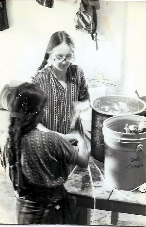 Deborah Flowers in Guatemala