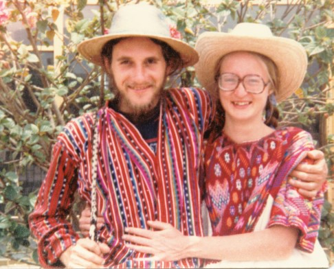 Douglas Stevenson and Deborah Flowers in Guatemala
