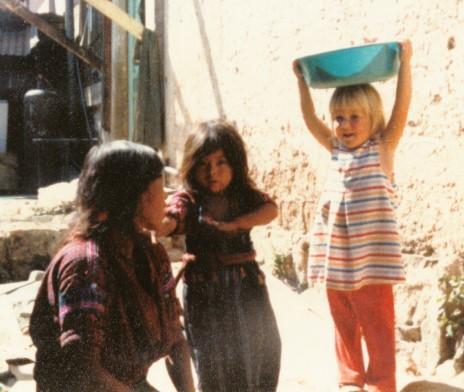 Leah in Guatemala